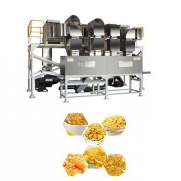 Hot Selling Corn Flakes Baked Machine Breakfast Cereal Inflating Device Extrusion Production Line
