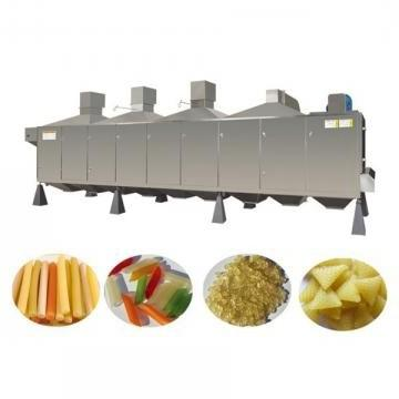 Stainless Steel Snack Food Frying Machine Potato Chips Making Machine