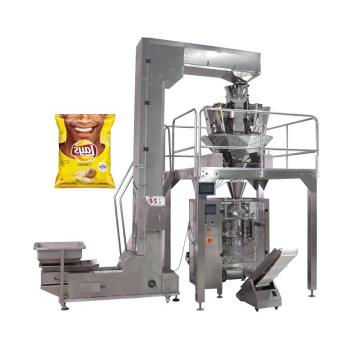 Inclined Belt Conveyor Potato Chips Lifting Machine