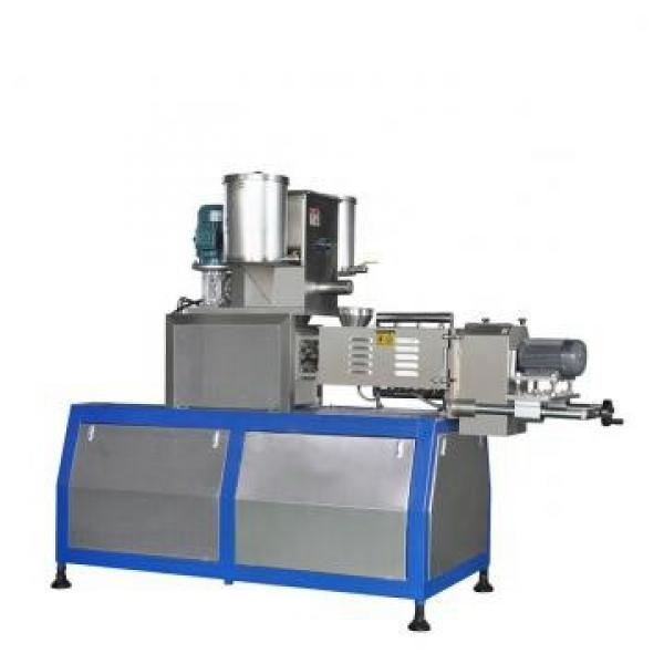 Automatic Industrial Extrusion Breakfast Cereal Corn Flakes Processing Line