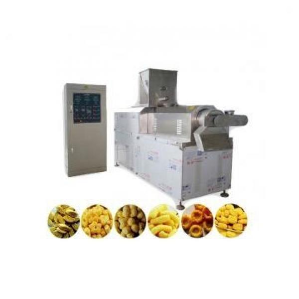 automatic slanty cheese ball puff maize snack food production extruder