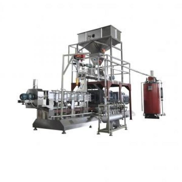 Corn Wheat Flakes Making Machine / Breakfast Cereal Extruder Processing Line