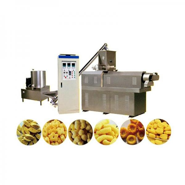Chocolate Core Filling Puff Snack Food Making Processing Machine