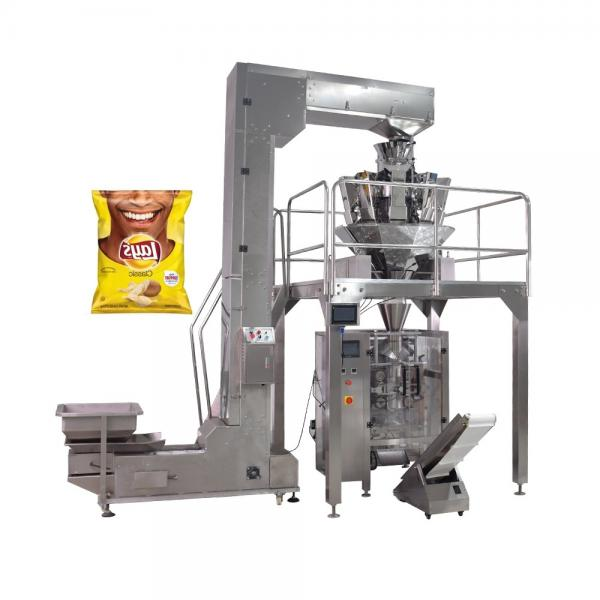 Automatic 10 Head Potato Chips Multihead Weigher Packing Machine