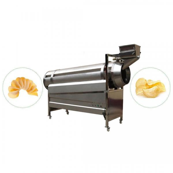 Fully Automatic 200kg Per Hour Potato Chips Machinery