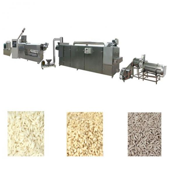 High Efficiency and Low Energy Nutrition Rice Production Line Long Performance and Big Capacity Instant Rice Processing Line