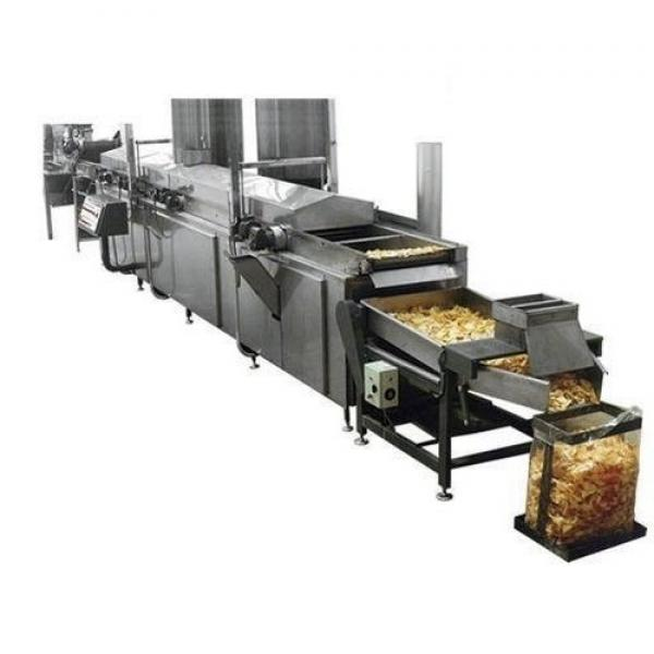 automatic fried potato chips snacks food extrusion making machinery
