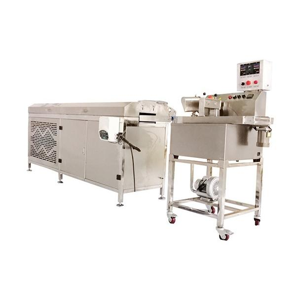 Automatic Chocolate Bar Making Machine with Depositing Line