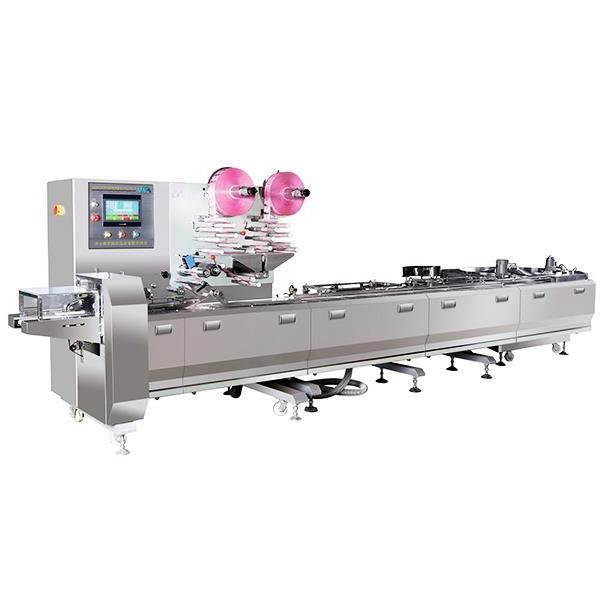 Chocolate Machine Supplier Chocolate Bar Maker Double Shots Chocolate Moulding Plant Chocolate Production Line with Ce ISO9001 (QJ175)