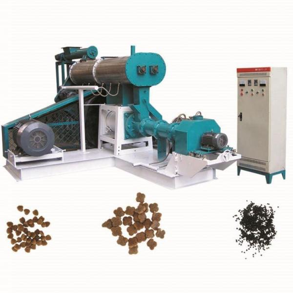 Crew Dry Floating Fish Feed Pellet Making Machine Extruder