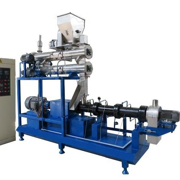 Single Screw Floating Fish Feed Extruder Machine