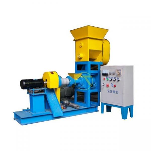 Poultry Floating Pellet Fish Feed Press Extruder Making Machine Factory