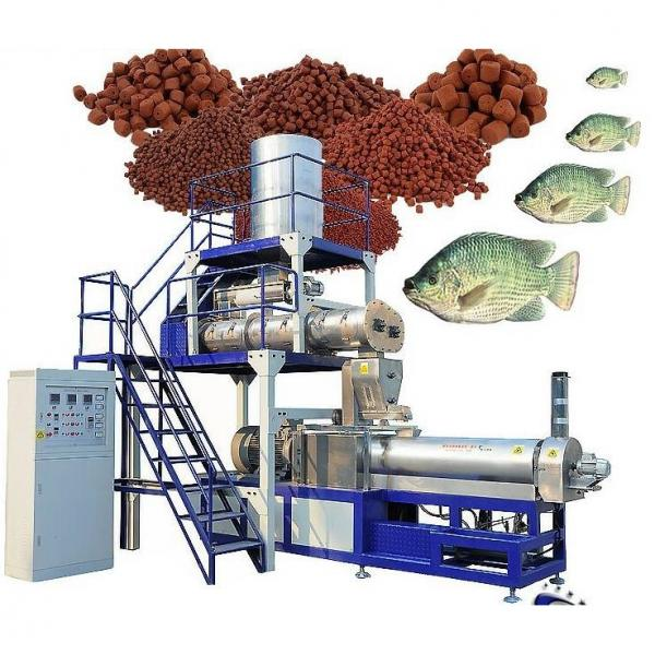 Animal Feed Processing Equipment Floating Fish Feed Extruder Machine