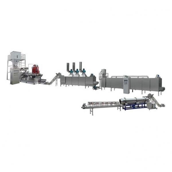 Wet Type Extruder Consisting Pre Conditioner Floating Fish Feed Machine