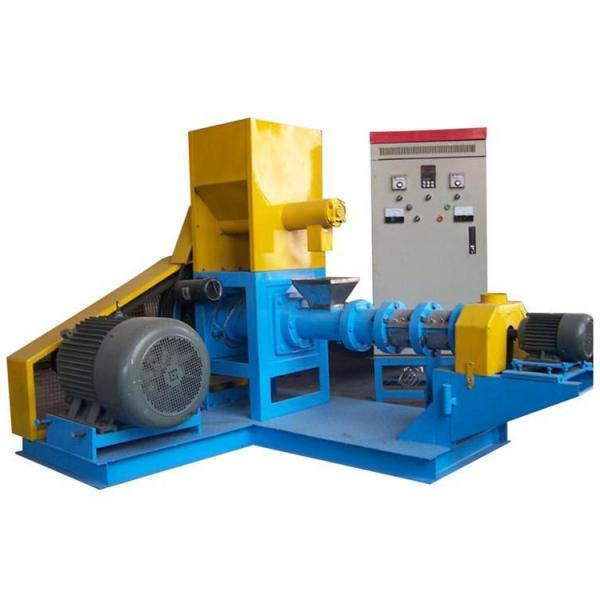 China Ce Small Floating Fish Feed Pellet Extruder Machine for Sale