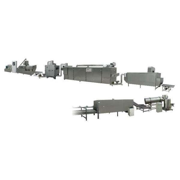 Puffed Snacks Extruder Puff Corn Chips Breakfast Cereal Making Machine Unit Plant Device Production Line