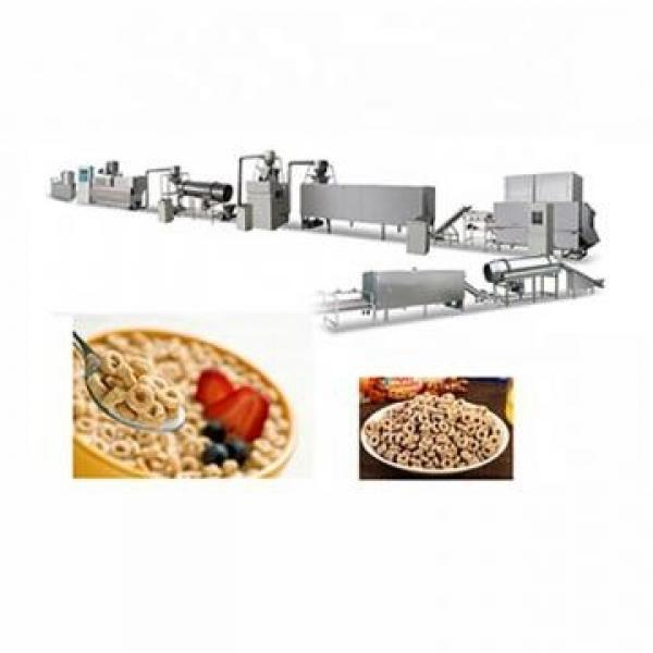 Healthy Breakfast Cereal Cornflakes Process Line Produciton Machine/Puffed Corn Flakes Production Line