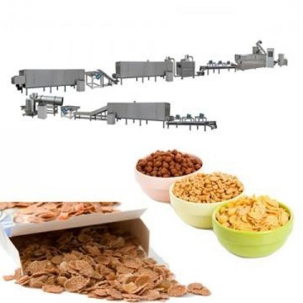 High Quality High Capacity Breakfast Cereal Loops Production Line