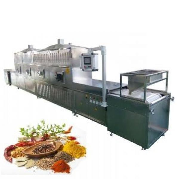 Continuous Tunnel Moringa Leaves Herbs Microwave Drying Equipment