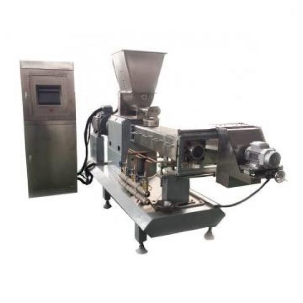 Extruded Snack Food Production Machine / Corn Puff Snack Extruder Corn Snacks Food Extruder