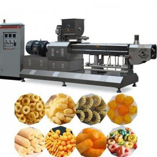 Double Twin Screw Making Extruder Machine Processing Production Line Core Filling Inflating Rice Corn Cereal Puffs Snack Food Corn Snack Making Machine Extruder