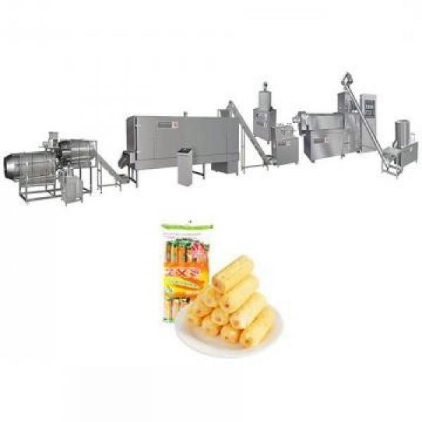 Small Cereal Corn Snacks Processing Line Extruded Snack Food Chip Production Making Machine Puff Corn Cheese Ball Snacks Food Pellet Extruder
