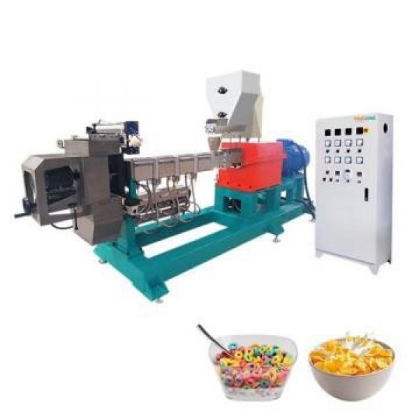 Puffed Core Filling Cheetos Kurkure Pet Food Corn Flakes Bread Crumbs Baby Powder Pasta Nutritional Rice Tvp Potato Chips Processing Line